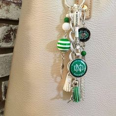 Forever Sioux purse charm UND ice hockey Fighting Sioux