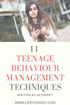 Teenage Behaviour and Attitude Problems: 11 Behaviour Management Techniques - My career involves working with difficult teenagers and dealing with teenage behaviour and attitude - Raising Teenagers, Parenting Teenagers, Good Parenting, Parenting Hacks, Parenting Classes, Parenting Styles, Single Parenting, Parenting Humor, Teen Attitude
