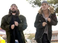 Kevin Smith and Jason Mewes! (Jay and Silent Bob!!!!)