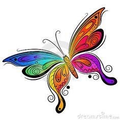 Vector Butterfly Design