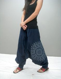 Sym Harem pant (NEW printed) these would be nice sitting around pants