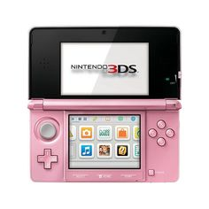 Nintendo 3DS Handheld Gaming System - Pearl Pink from ToysRUs on shop.CatalogSpree.com, your personal digital mall.