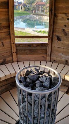 Saunaofen von FinTec in der Sauna Kugl