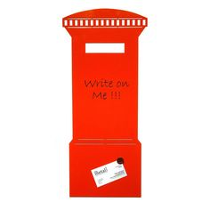 Magnetic Post Box Memo Board from notonthehighstreet.com