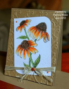 CAS179, A sunny hello (PR) by kokirose - Cards and Paper Crafts at Splitcoaststampers