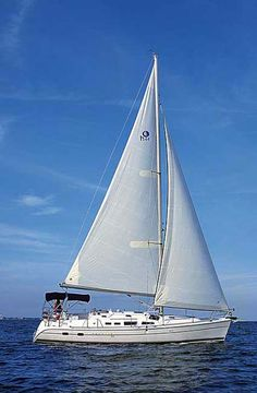 sailboat one of life's adventures #lovesailing #sailboat #lifeonthesea