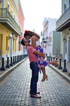 Old San Juan Engagement Session | Puerto Rico
