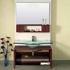 bathroom floating vanity cabinets | Bathroom Furniture Bathroom Vanities LineaAqua Gallo 40 x 22 Floating ...