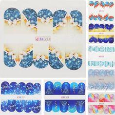 $1.19 Nail Art Water Decals Transfer Stickers Bird Floral Pattern Sticker DLS191/193 - BornPrettyStore.com