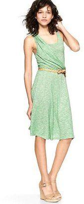 Asymmetrical striped dress - Gap