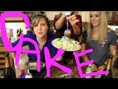 My Drunk Kitchen with special guest Jenna Marbles. Love these ladies!