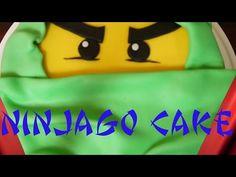 Mein Rezept und Anleitung für eine Motivtorte LEGO Ninjago - Green Ninjago. Kuchen backen und Torte dekorieren ist in diesem Video erklärt. Ich fülle die Tor...