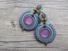 Hey, I found this really awesome Etsy listing at https://www.etsy.com/listing/199634617/soutache-earrings-with-lunasoft