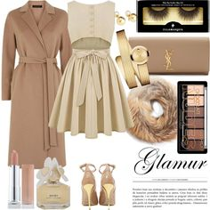 I'm bringin' sexy back by ivannnaaa on Polyvore featuring мода, Jaeger, Rosetta Getty, Balmain, Yves Saint Laurent, Movado, Yoko London, Illamasqua and Marc by Marc Jacobs