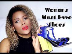 Women's Shoes Must Haves | Shoes Ladies should own