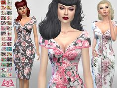 Sims 4 CC's - The Best: Dresses by Colores Urbanos