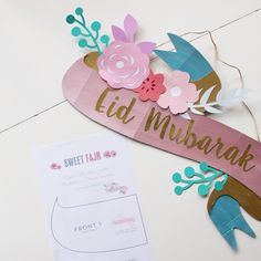 A Crafty Arab: 99 Creative Eid Projects. Salaam Aleikum, This is a really fun DIY Eid craft and it will look so beautiful to decorate with during Eid <3 The best part is that you can color it just as you like and it is not difficult to...