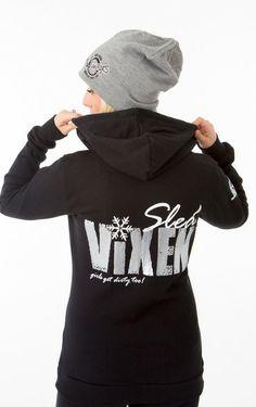 SLED VIXEN - Hardcore Zip Hoodie  #girlsgetdirtytoo #offroadvixens