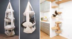 Pets in Small Apartments |10 Creative Hacks for Fido | http://www.godownsize.com/small-apartment-pets-hacks/