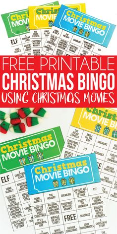 Christmas Bingo Printable, Free Printable Bingo Cards, Christmas Bingo Cards, Christmas Party Games, Free Cards, Christmas Fun, Xmas Games, Free Printables, Holiday Games