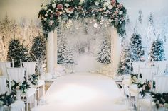 wedding ceremony, wedding arch, winter wedding, decor fairy forest, fairy wood…