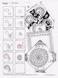 zenjoys blog zenjoy zentangle zrich schweiz - Zentangle Muster