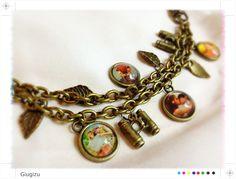 Moonrise Kingdom inspired bracelet. Check my blog to see the full Moonrise Kingdom parure: http://giugizu.blogspot.it/2013/06/moonrise-kingdom-inspired-accessories.html
