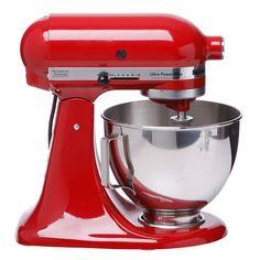 KitchenAid KSM100PSER/KSM100PSER0 Empire Red UltraPower Plus Stand Mixer