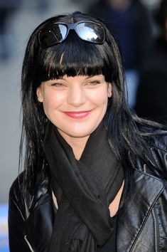 "Pauley Perrette | Pauley Perrette Pauley Perrette arrives at ""Late Show With David ..."
