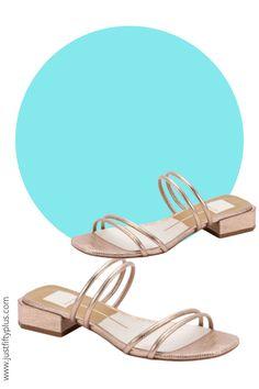 Rose Gold Strappy Slide Sandals #affiliatelink #sandals #beachwear #bathingsuits #beachvibes #beachoutfits #winelovers #beachaccessories Bathing Suit Cover Up, Bathing Suits, Beach Accessories, Beachwear For Women, Slide Sandals, High Heels, Women Wear, Swimsuits, Rose Gold