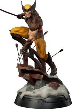 Wolverine Brown Costume Premium Format Figure