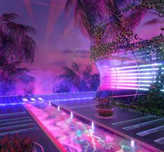 Blake Thomas is a multidisciplinary designer focused in illustration, iconography and branding. Aesthetic Space, Aesthetic Room Decor, Purple Aesthetic, Pompe A Essence, Cyberpunk Aesthetic, Neon Room, Fantasy Landscape, Retro Futurism, Dream Rooms