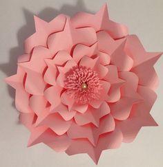 Princesse Fleur de papier papier par LavishInspirations sur Etsy