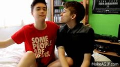 Alex Bertie and Jake Edwards are the cutest humans ever