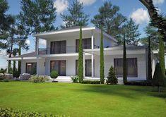 Villa contemporaine 150 M2 Etage - Modèle PINEDE - Salon de provence 13300 Bdr - Azur Logement Provençal