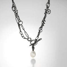 Pearl Twig & Seed Necklace by John Iversen @quadrum