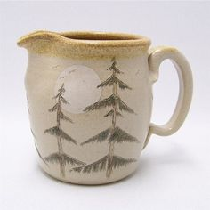 Pine Tree Pitcher