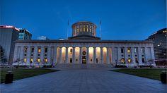 Ohio State Capital Building by SuperCanonDude, via Flickr-Mile high,Columbus,Ohio  11/22/2009