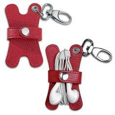 Pocquettes Earbud Holder Key Chain - Earbud Holder - Levenger