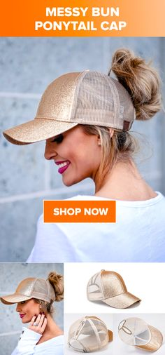 7d69af229 8 Best Messy Bun Ponytail Cap images in 2019