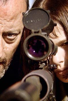 Jean Reno y Natalie Portman en León, el Profesional