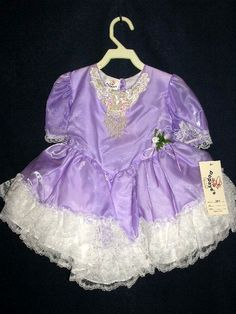 DRESSES  SZ 2 DRESS  MADE IN USA  LILAC TODDLER PRETTY our store link http://stores.ebay.com/store4angels?refid=store come see our store front always have great sales