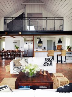 Hello dream home! Renovated Farmhouse in South of Sweden Style At Home, Loft Design, House Design, Small Space Interior Design, Attic House, Lets Stay Home, Weekend House, Farmhouse Remodel, Buying A New Home