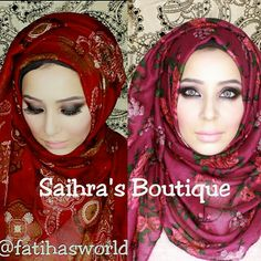 Hijab Review with Tutorials: Saihra's Boutique|by fatihasWORLD