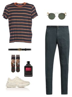 """Untitled #51"" by rayensulistiawan on Polyvore featuring Levi's, Boglioli, Gucci, Stance, Givenchy, men's fashion and menswear"