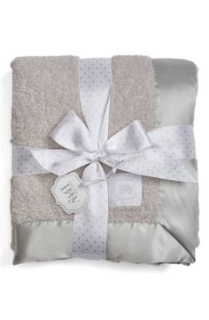 An ultra-plush blanket trimmed in lustrous satin makes for a cozy addition to your nursery décor. Nordstrom Baby, Chenille Blanket, Receiving Blankets, Anniversary Sale, Baby Gear, Nursery Decor, Baby Gifts, Diaper Bag, Plush