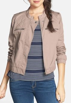 quilted cotton twill bomber jacket  http://rstyle.me/n/mwby2pdpe