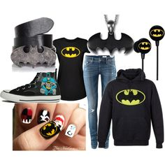 Batman Obsession!, created by katiebeth97 on Polyvore