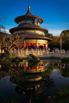 Chinese pavilion, Epcot