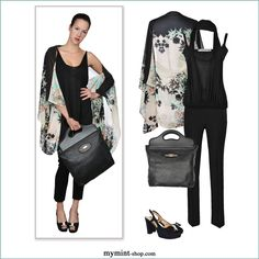 How to wear PICCA by MyMint Top: #Balenciaga, Hose: #EliseGug, Tasche: #Gucci, Schuhe: #Unützer